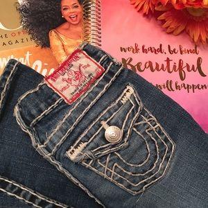 True Religion GIRLS Joey Super T Boot Cut Jeans
